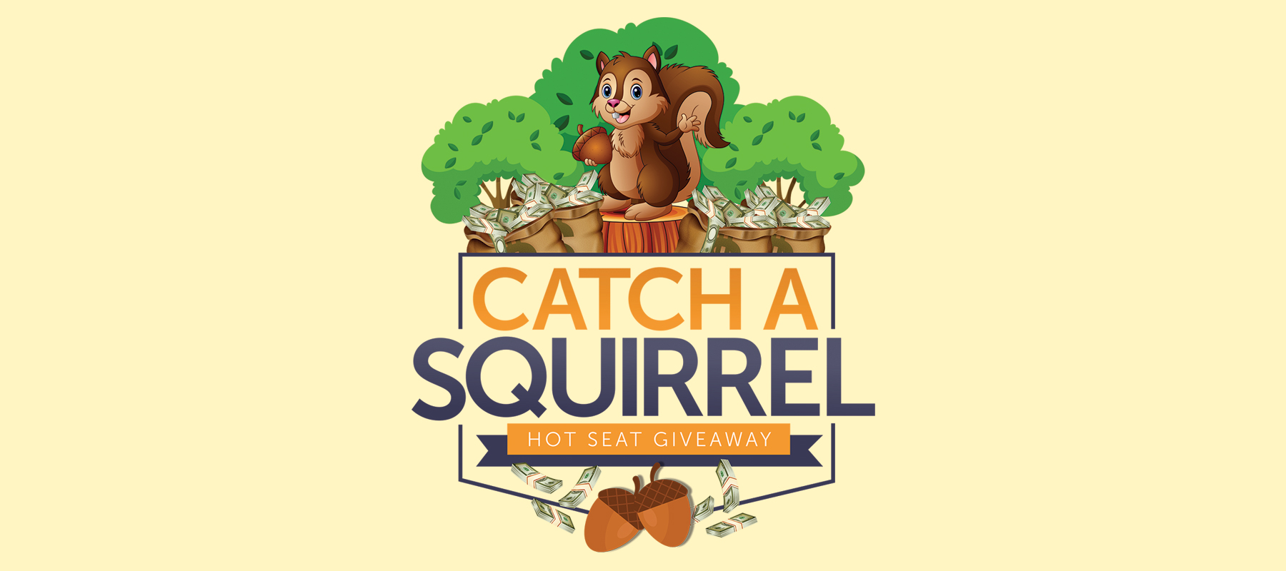 Catch a Squirrel Hot Seat Giveaway