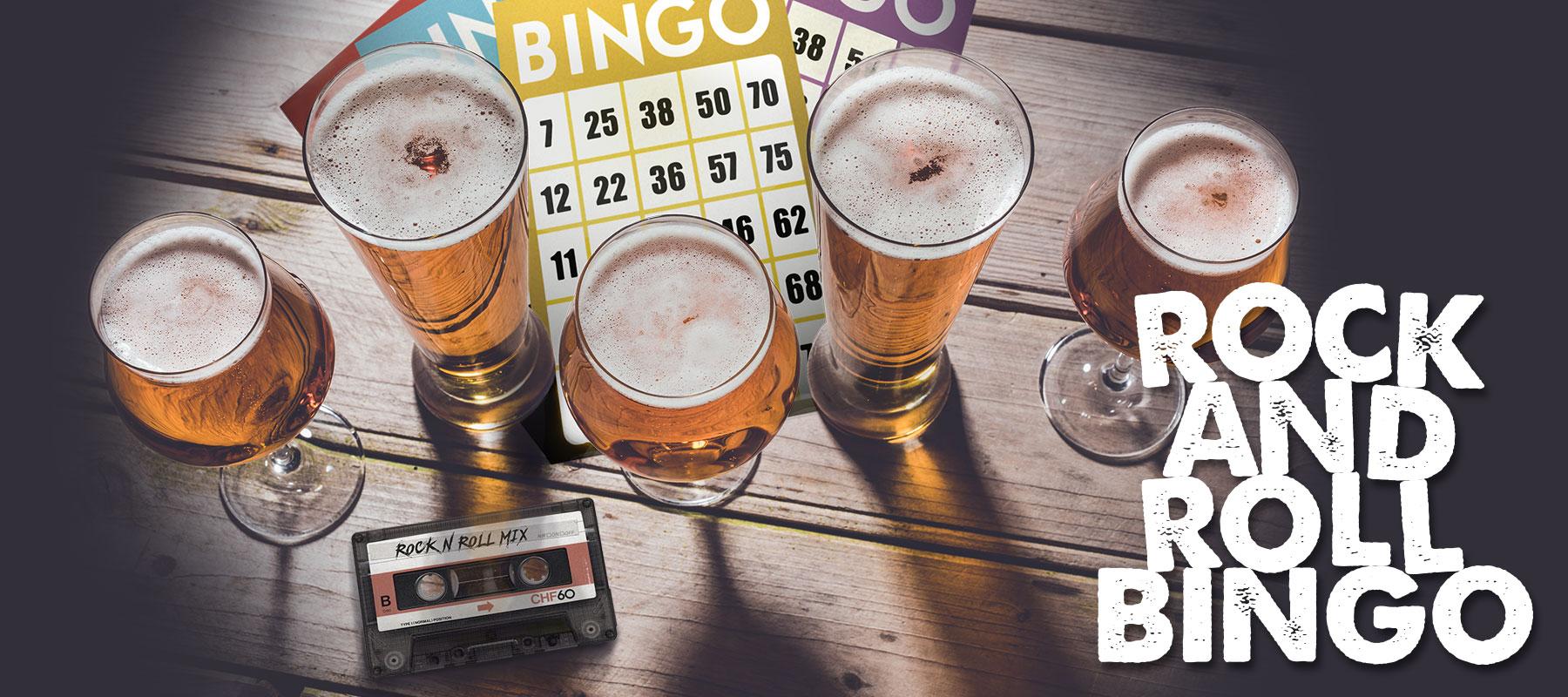 Rock and Roll Bingo
