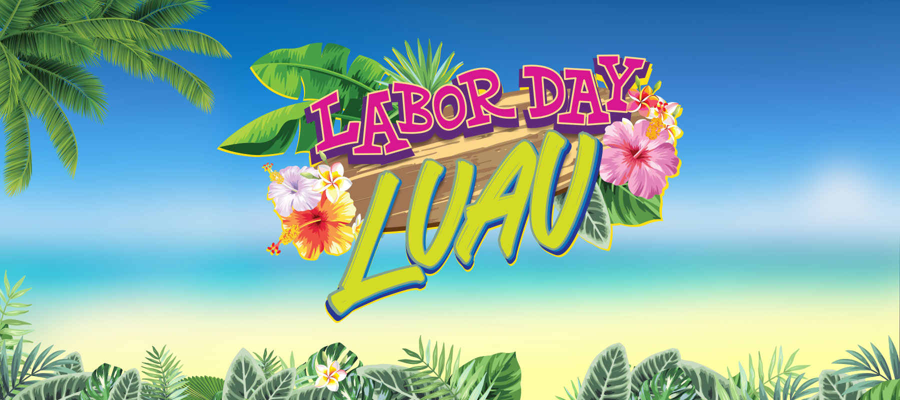 Labor Day Luau