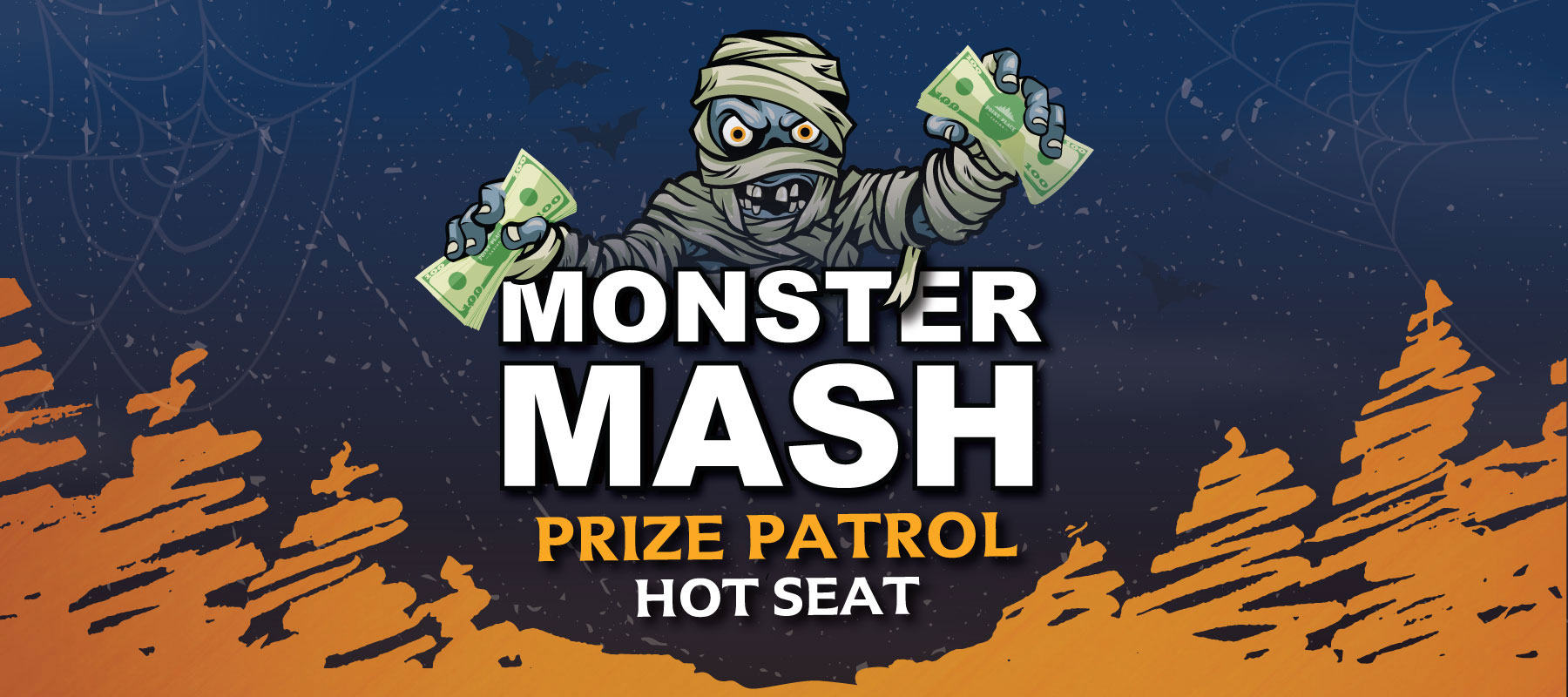 Monster Mash Prize Patrol Hot Seat
