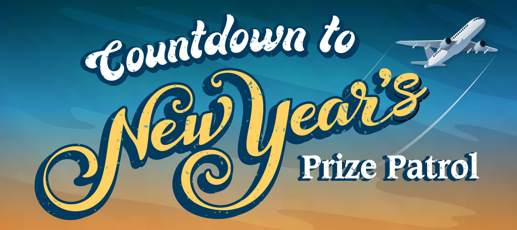 Countdown to New Year's Prize Patrol