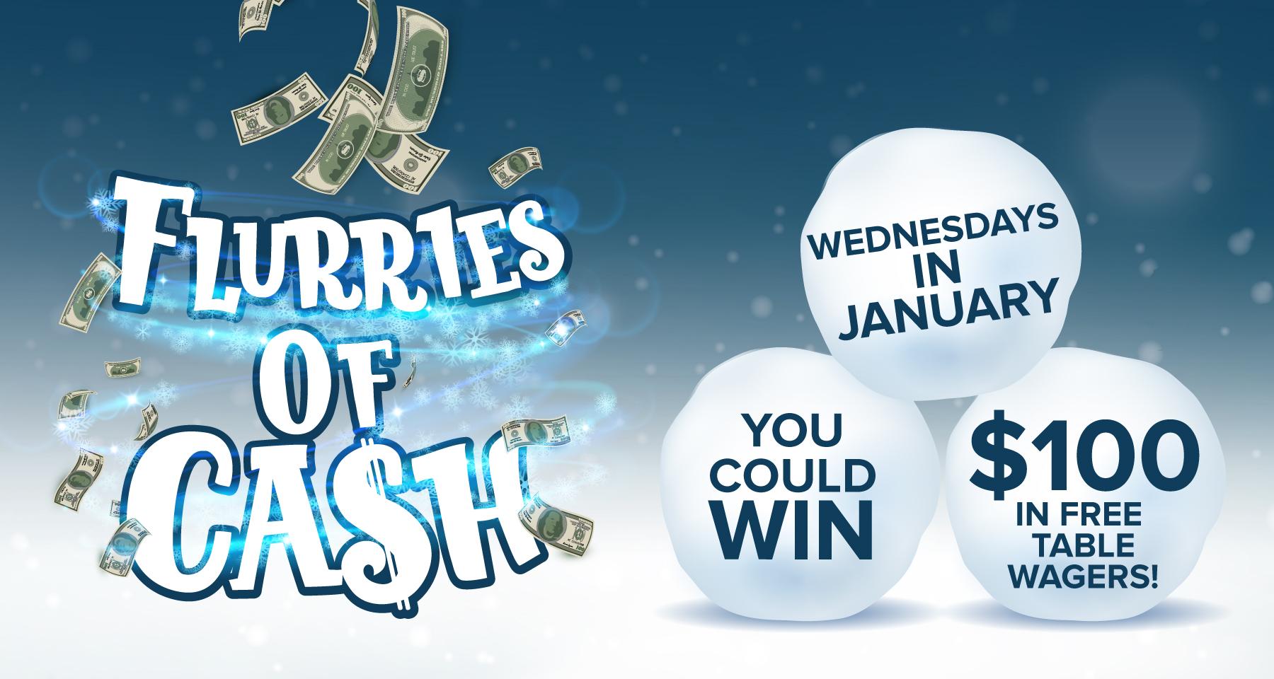 Flurries of Cash