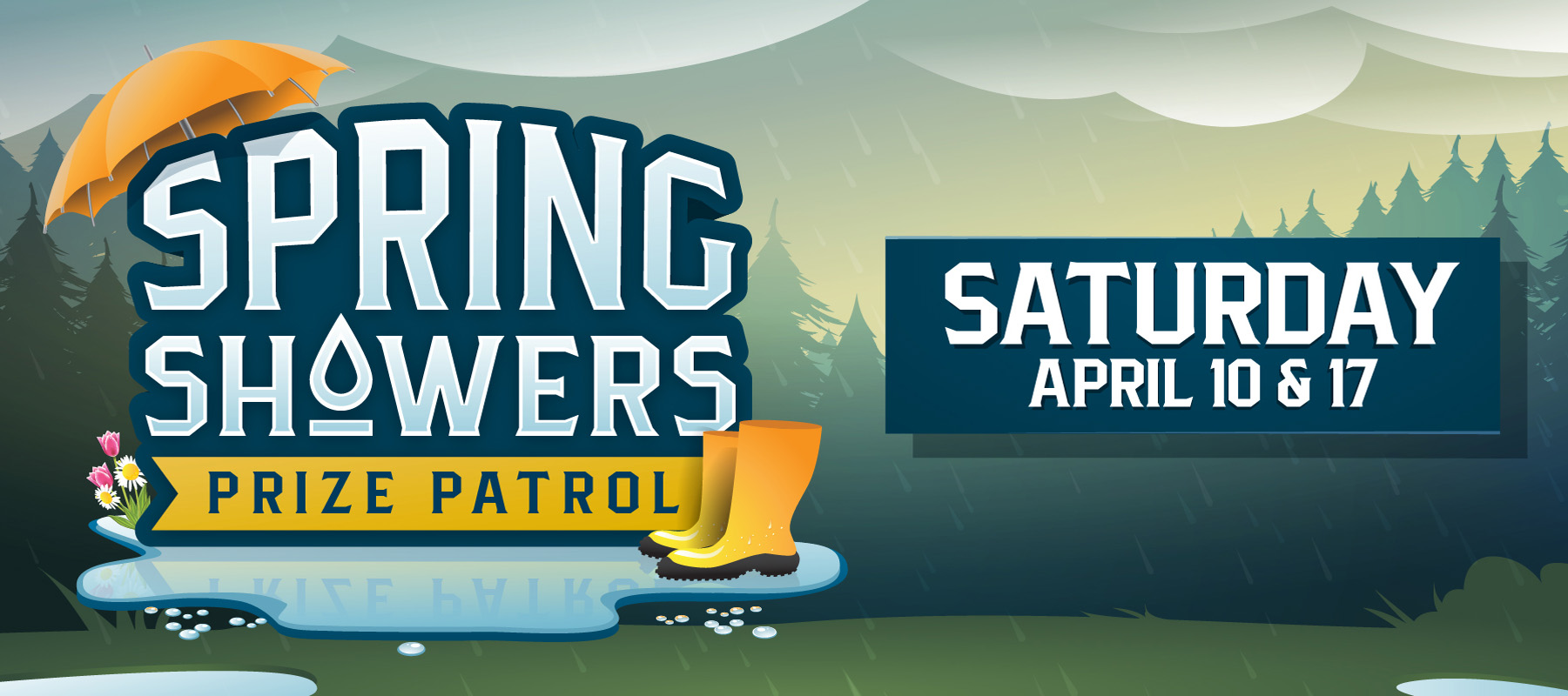 Spring Showers Prize Patrol