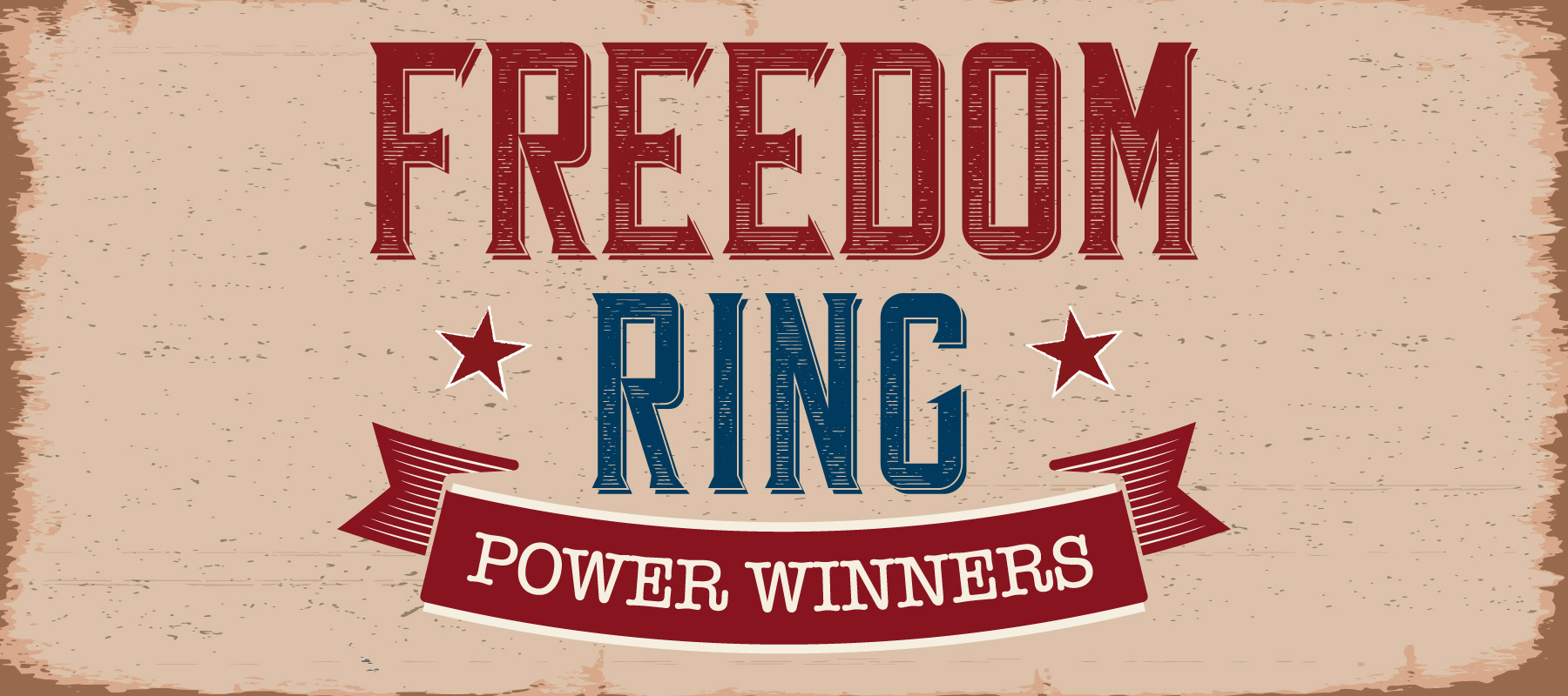 Freedom Ring Power Winners