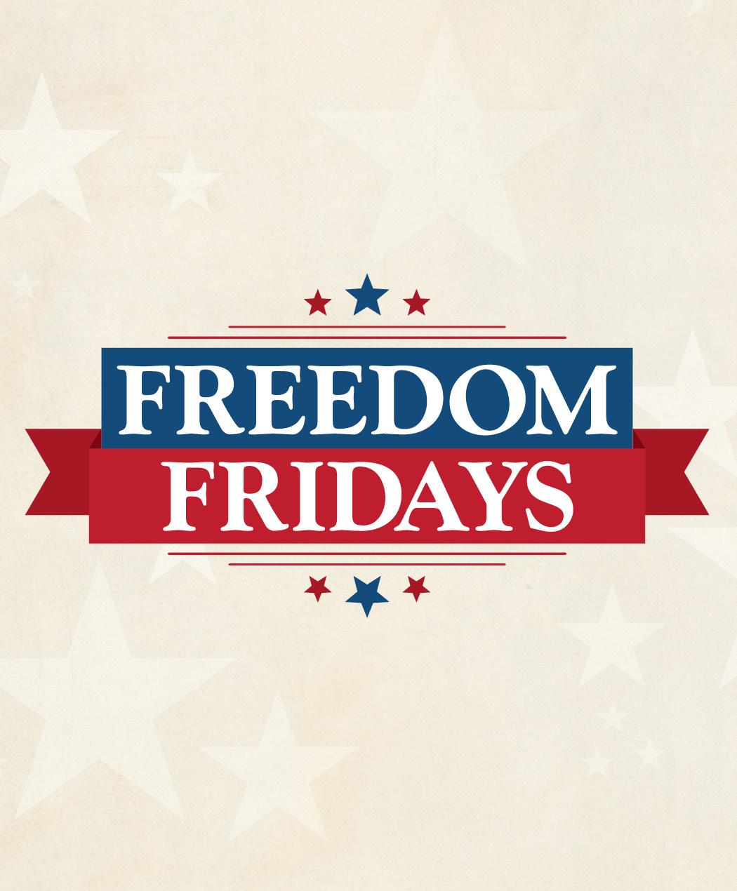 Freedom Fridays