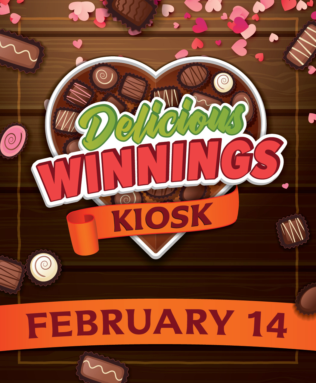 Delicious Winning Kiosk