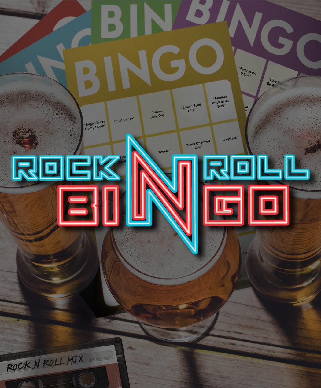 Rock N' Roll Music Trivia Bingo