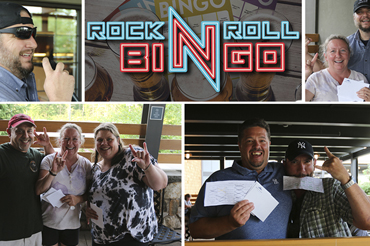 Jamming IRL to Rock N Roll Bingo